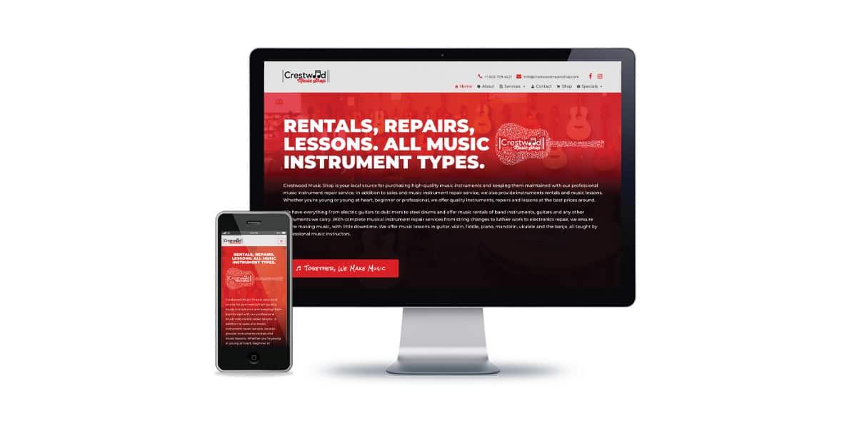 Music Shop Website