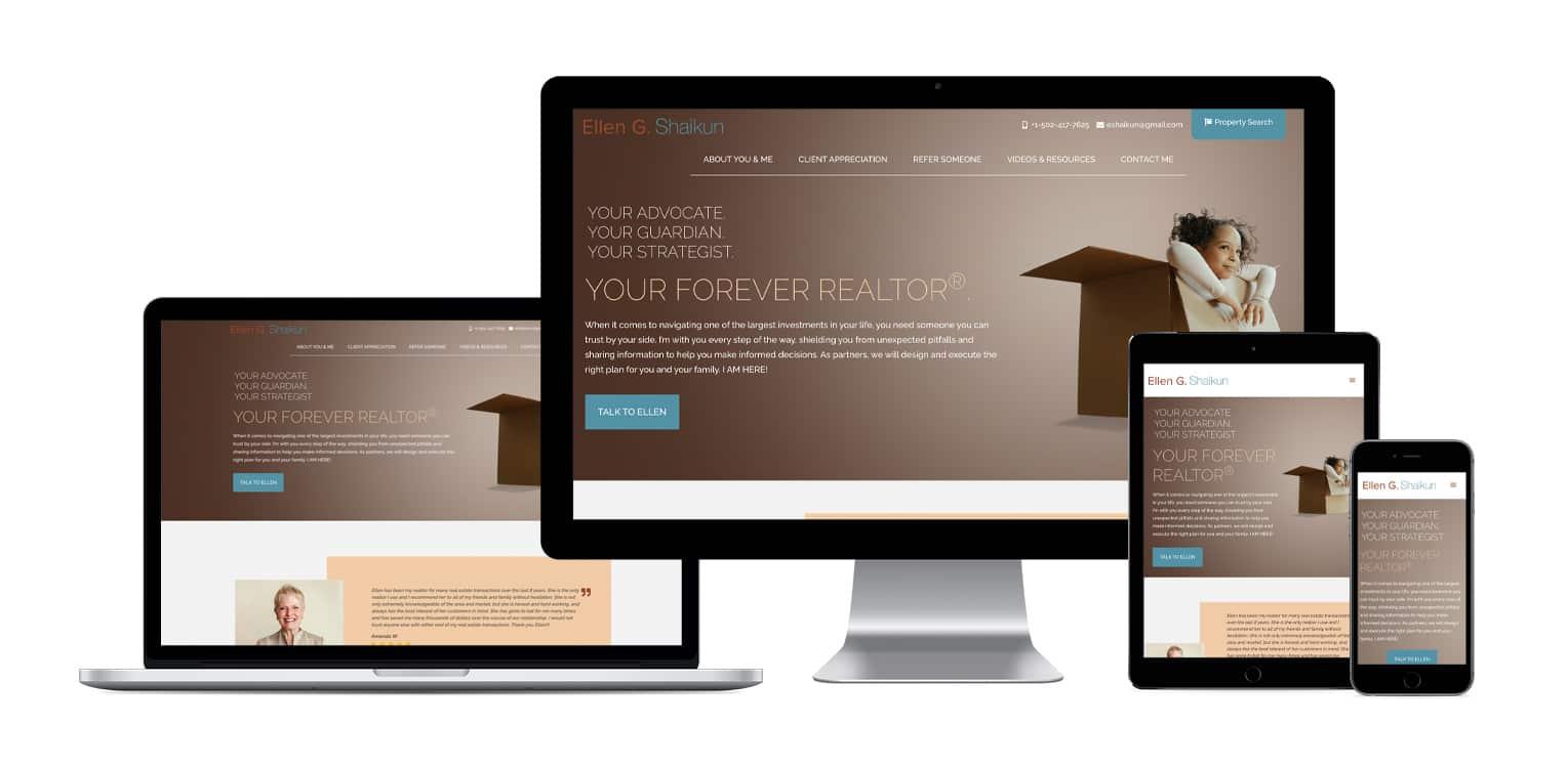 Website design and development in Louisville KY