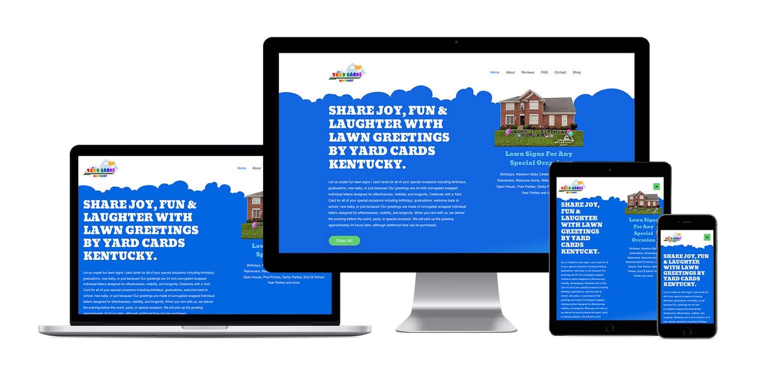 Responsive Ecommerce website